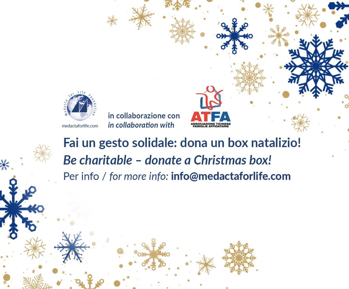 Be charitable – Donate a Christmas Box!